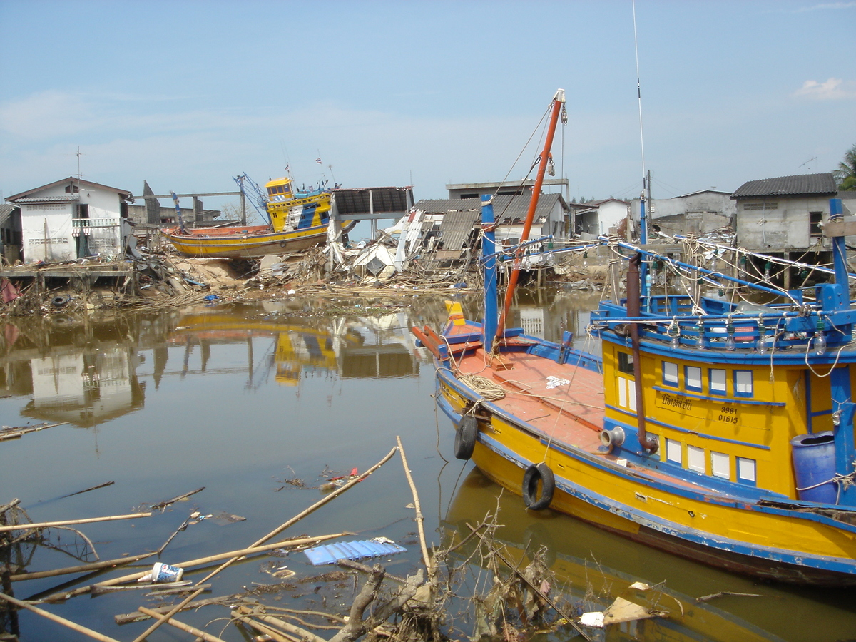 Tsunami Einsatz Thailand 120
